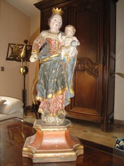 Статуя каталонской Rosa